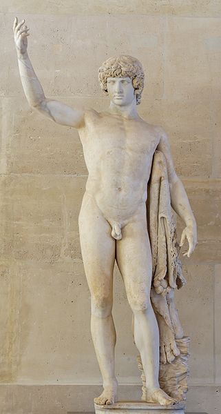 Antinous in the Louvre