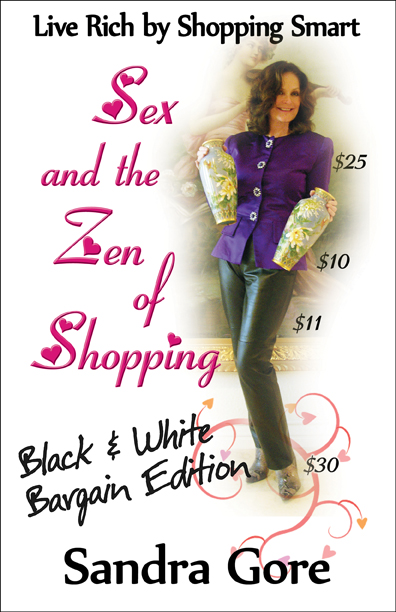 Sex and the Zen of Shopping (Black and White Edition)