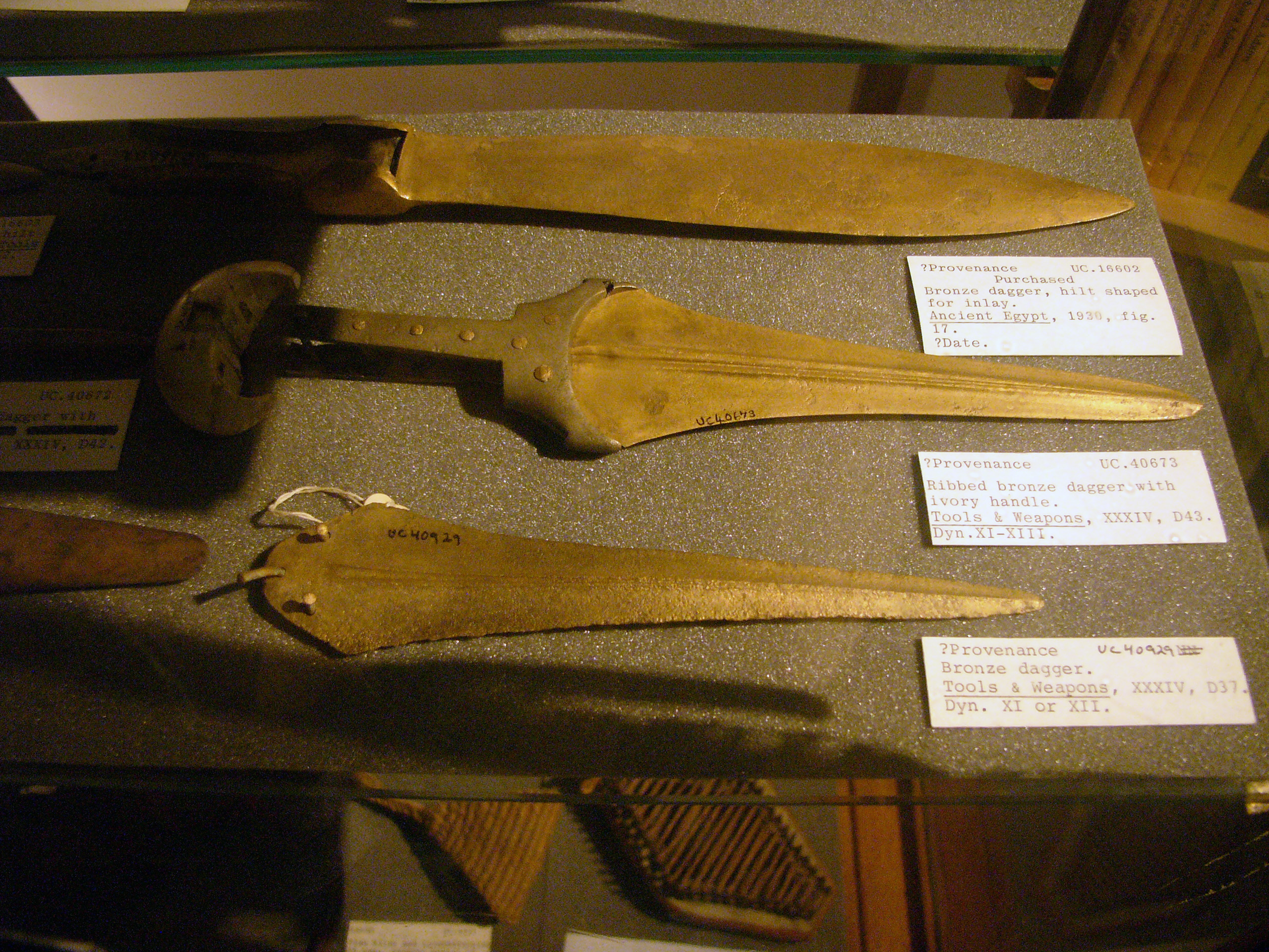 ancient Egyptian Swords and daggers PetrieAncient Egyptian Swords And Daggers