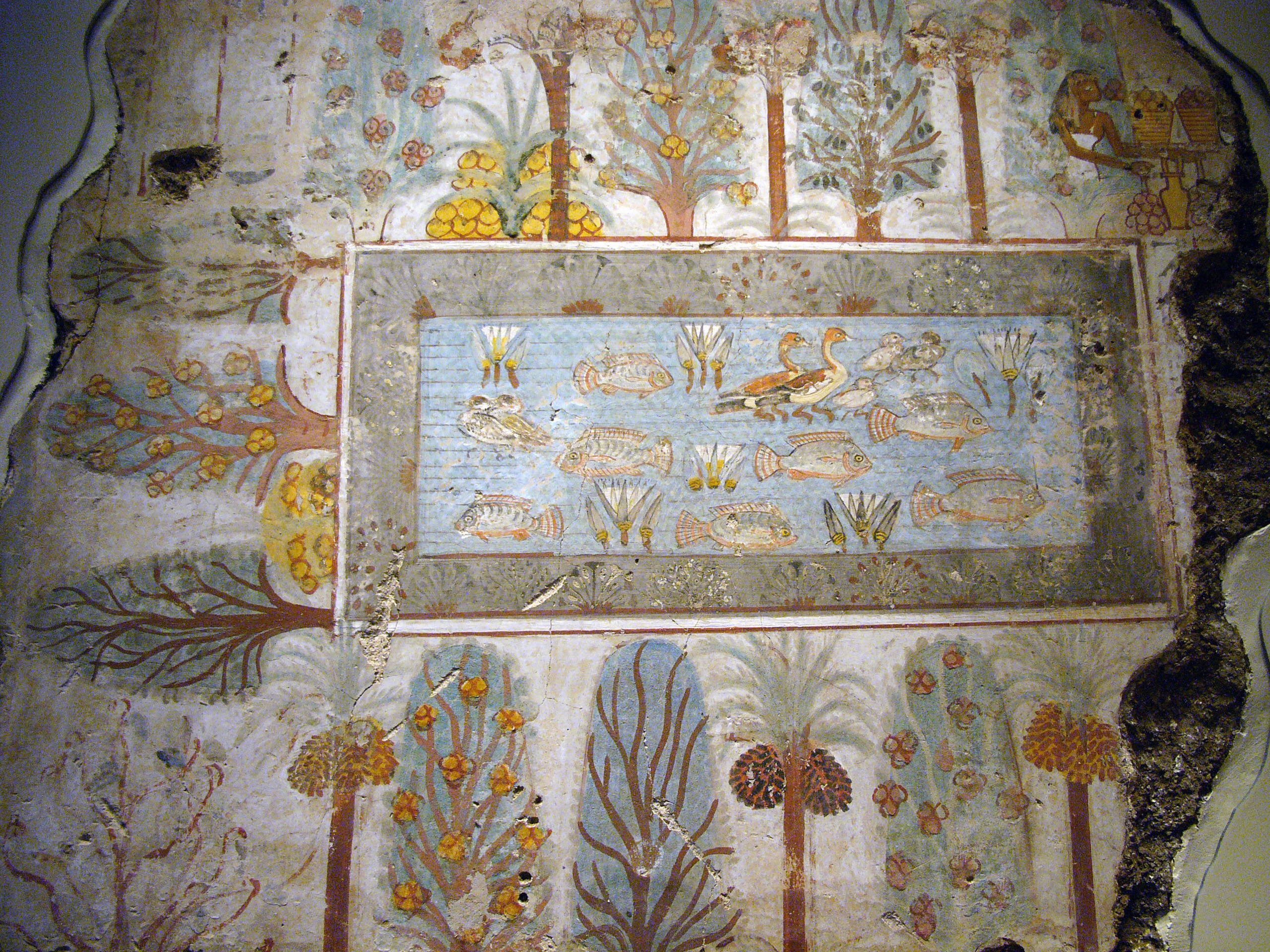 Roman Wall Painting Sandals