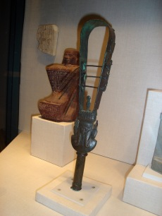 Sistrum with Head of Hathor