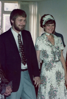 Wedding Picture smiling