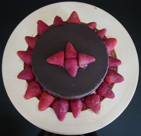 chocolate ganache with strawberries marinated in Grand Marnier. More special desserts for Aries Birthdays.