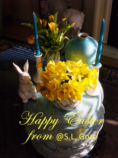 Easter at my house is a time for yummy food, delicious wines and good company.