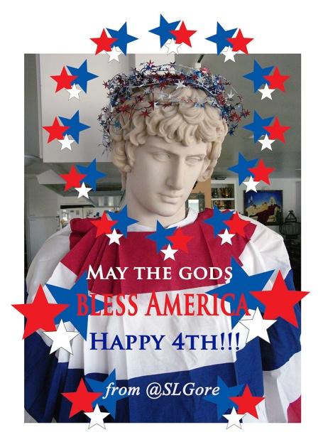 4th July 2015 May the gods SLGore e
