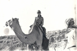 Sandra on camele